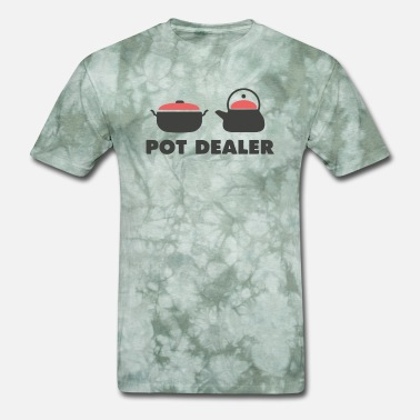 Vintage Pot Pot Dealer Cooking Pot Tea Pot - Men's T-Shirt
