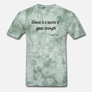 Philosopher Strength from Silence. - Men's T-Shirt