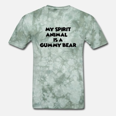 Spirit Animal Bear my spirit animal is a gummy bear - Men's T-Shirt