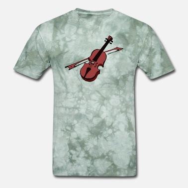 496786e4 Violin Violinist Instrument Music Fiddle Men's Premium T-Shirt ...