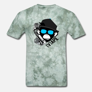 The Smoking Ape Vape Ape Life Monkey smoking Vaporizer Cigarette - Men's T-Shirt