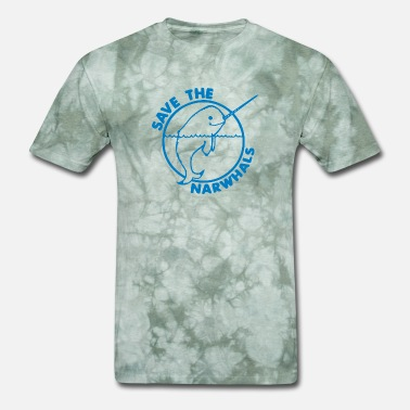 Save The Narwhals Save The Narwhales - Men's T-Shirt
