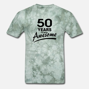 Awesome 50 Years of being AWESOME - Men's T-Shirt