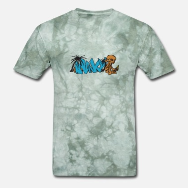 Monkey Graffiti graffiti - Men's T-Shirt