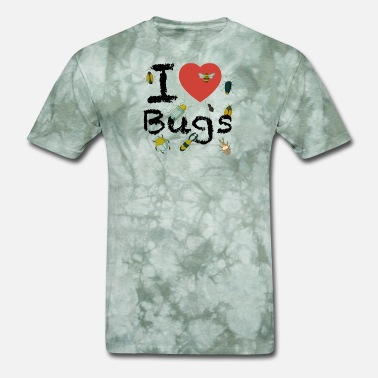 I Love Insects I Love Bugs Insects Crawlers Beetles Lovers - Men's T-Shirt