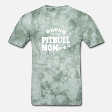 Proud Pitbull Mom Proud Pitbull Mom shirts - Men's T-Shirt