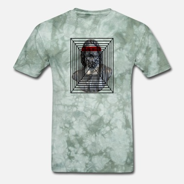 Dimensional STATUE THREE-DIMENSIONAL - Men's T-Shirt