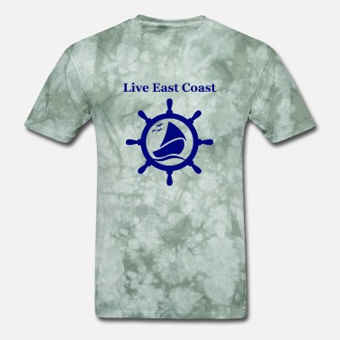 East Frisia live east coast - Men's T-Shirt