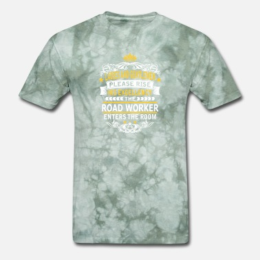 Workers ROAD WORKER - Men's T-Shirt
