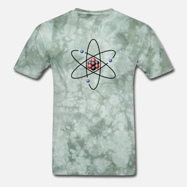 Atomic Model atom model - Men's T-Shirt