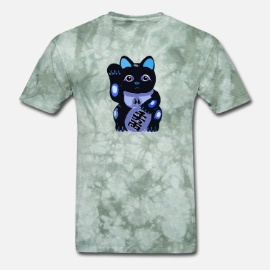 Neko Lucky Cat Maneki Neko - Men's T-Shirt