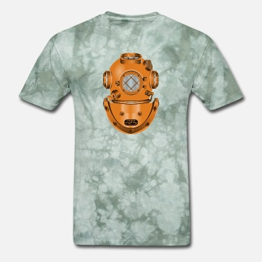 Dive Helmet diving helmet - Men's T-Shirt