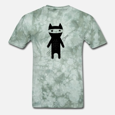 Ninja Cat cat ninja - Men's T-Shirt
