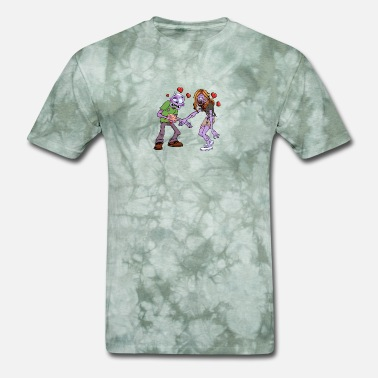 b7c79e49 Halloween Couples Zombie Couple - Halloween - Men's T-Shirt