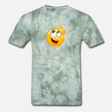 Sweat Smiley wiping sweat emoticon - Men's T-Shirt
