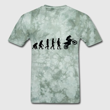 Monkey Motorcycles Evolution Cyclist Motorcycle Biker Sports - Men's T-Shirt