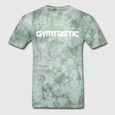 Gymtastic - white - horizontal - front - Men's T-Shirt
