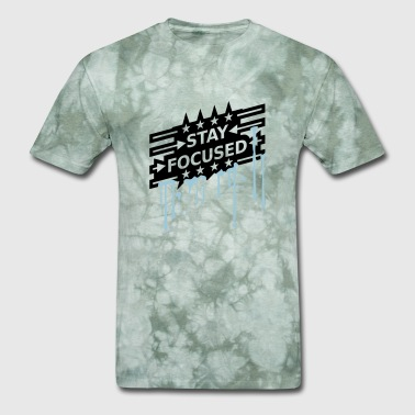 wet cool graffiti drops spray design stars arrows - Men's T-Shirt