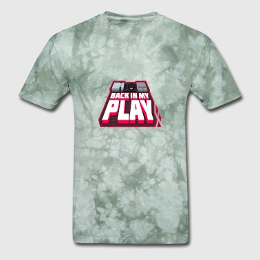 back in my play design - Men's T-Shirt