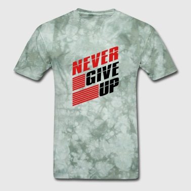 Bars team logo bar strokes we never give up never give - Men's T-Shirt