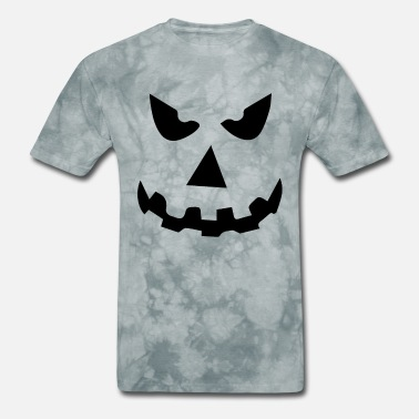 Evil Pumpkin Face Halloween evil pumpkin face - Men's T-Shirt