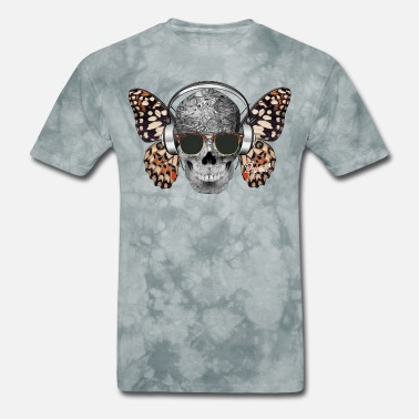 Camisetas-personalizadas Fly skullterflie - Papeel Arts - Men's T-Shirt