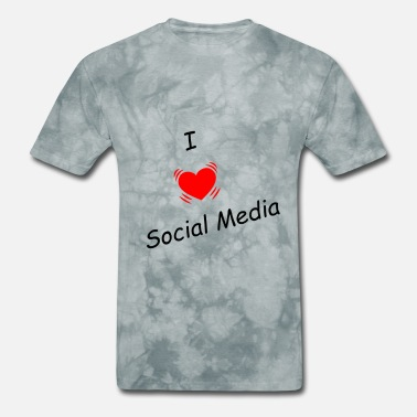 Social Media Trending I love social media - Men's T-Shirt