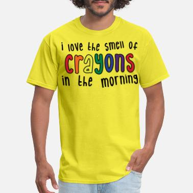 Elementary Crayons Womens light - Men's T-Shirt