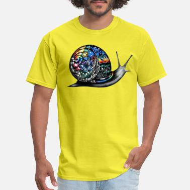 Psychedelic floyd conch - Men's T-Shirt