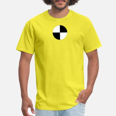 Dubstep Logo Crash Test Dummy Logo - Men's T-Shirt