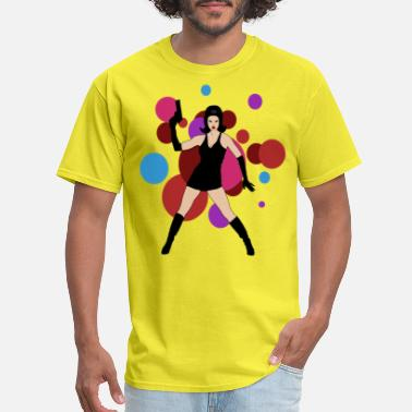 Spy Cat 60's Spy Girl - Men's T-Shirt