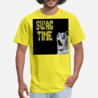 Swag Bear COOL BEAR SWAG TIME - Men's T-Shirt