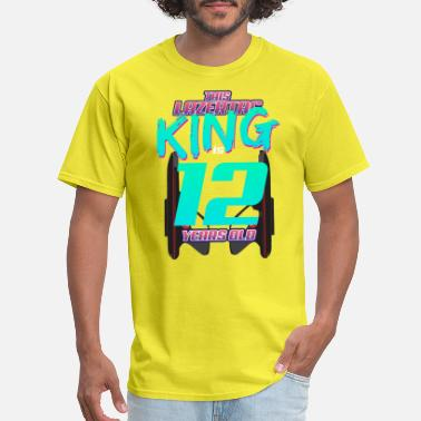 Aged 12 Years Old Lasertag - This King Is 12 Years Old - Men's T-Shirt