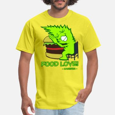 In Love With Food Food Love - Men's T-Shirt
