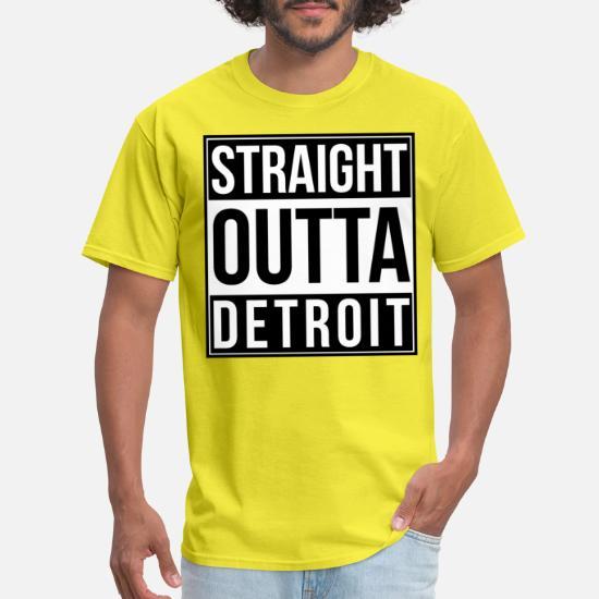 Straight Outta Detroit Premium Unisex Sweatshirt