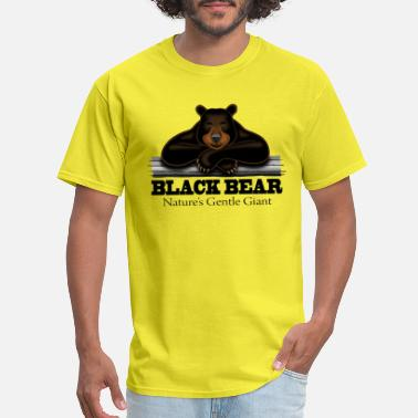Gentle Giant Black Bear: Nature's Gentle Giant - Men's T-Shirt