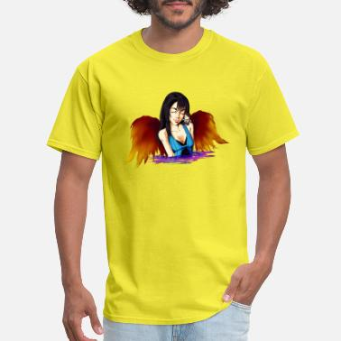 Squall Final Fantasy 8 Rinoa and Her Soldier - Men's T-Shirt