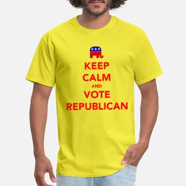 Elections Keep Calm and Vote Republican 2012 Election - Men's T-Shirt