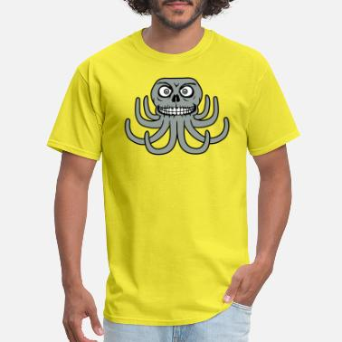 Evil Octopus horror halloween creepy evil octopus octopus octop - Men's T-Shirt
