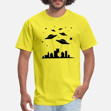 Alien Invasion alien invasion - Men's T-Shirt