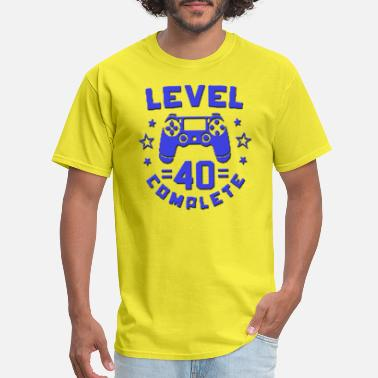 Geeked Birthday Gamer Geek Boys 40th Birthday - Men's T-Shirt