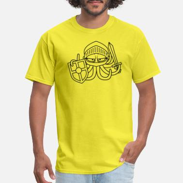 Sword Shield soldier knight sword shield middle ages warrior ev - Men's T-Shirt