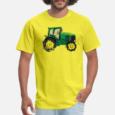 Tractor Kid Tractor - Men's T-Shirt