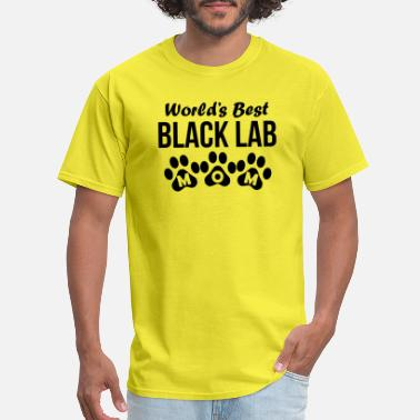 Black Lab Mom World's Best Black Lab Mom - Men's T-Shirt