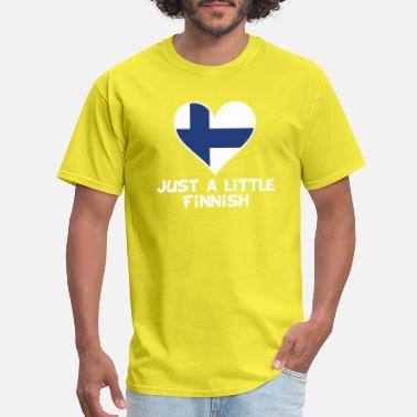 Finnish Design Just A Little Finnish - Men's T-Shirt