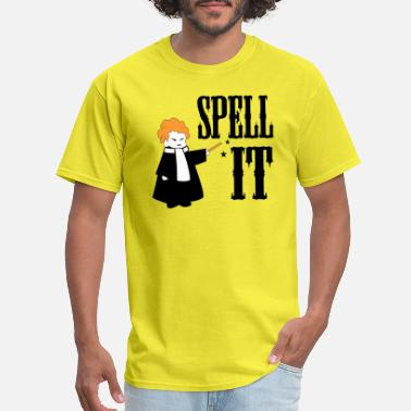 Spelling spell it - Men's T-Shirt