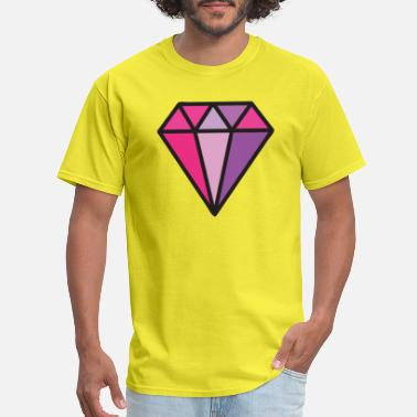Jewel Diamond Jewel, gem, jewelry - Men's T-Shirt