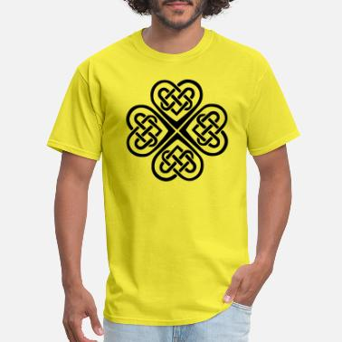 Celtic Art celtic heart - Men's T-Shirt