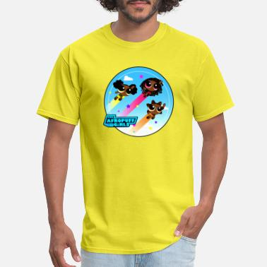 Sandal Colorful Sky Afropuff Girls - Men's T-Shirt