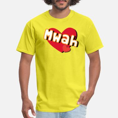 Mwah mwah - Men's T-Shirt